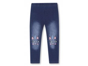 KUGO legíny dívčí KK9905 barva jeans, N
