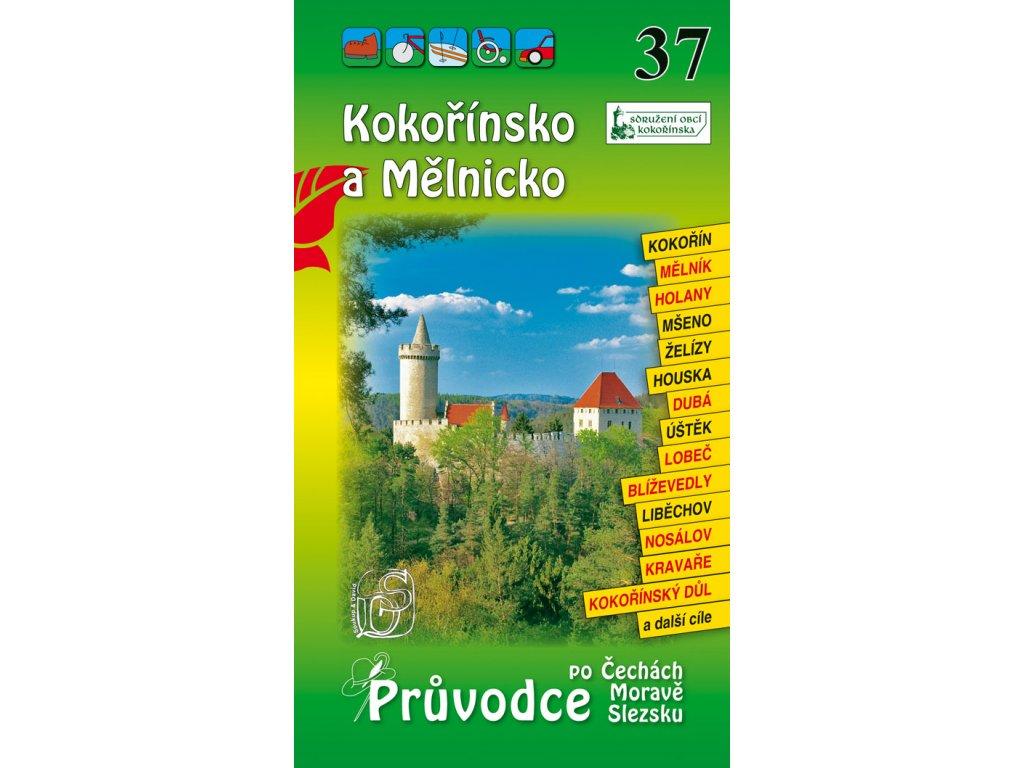 Kokořínsko a Mělnicko - průvodce č. 37