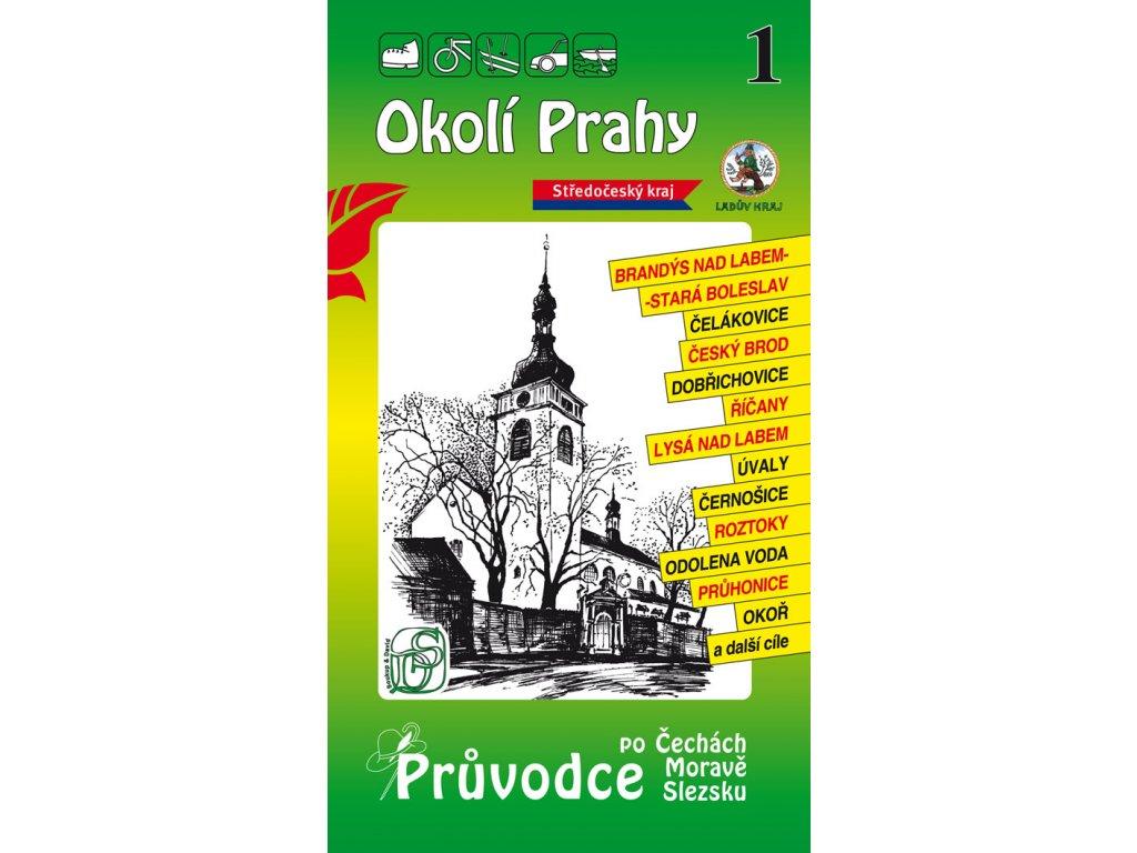 Okolí Prahy - průvodce č. 1