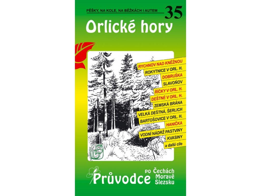 Orlické hory - průvodce č. 35