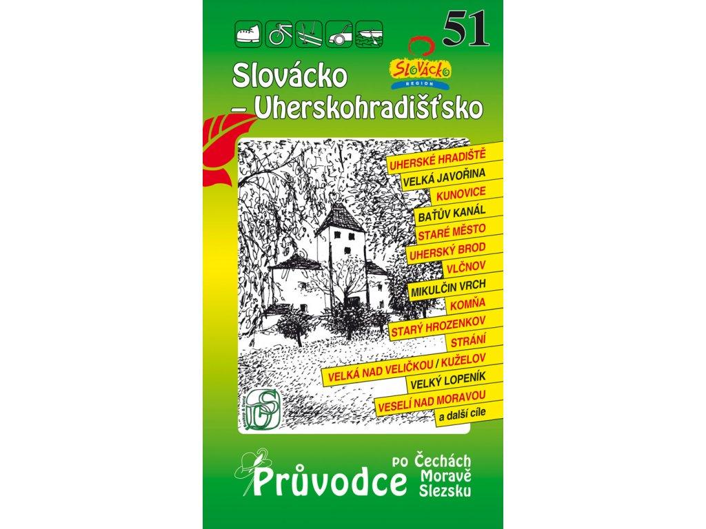 Slovácko - Uherskohradišťsko - průvodce č. 51