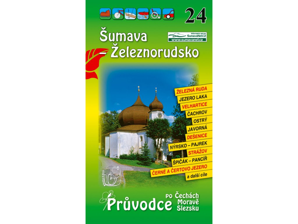 Šumava - Železnorudsko - průvodce č. 24