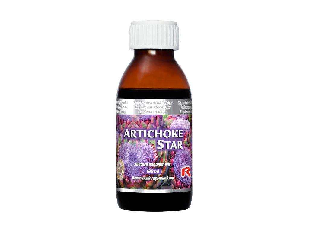 ARTICHOKE STAR, 120 ml - artyčok – trávení, zdravá játra