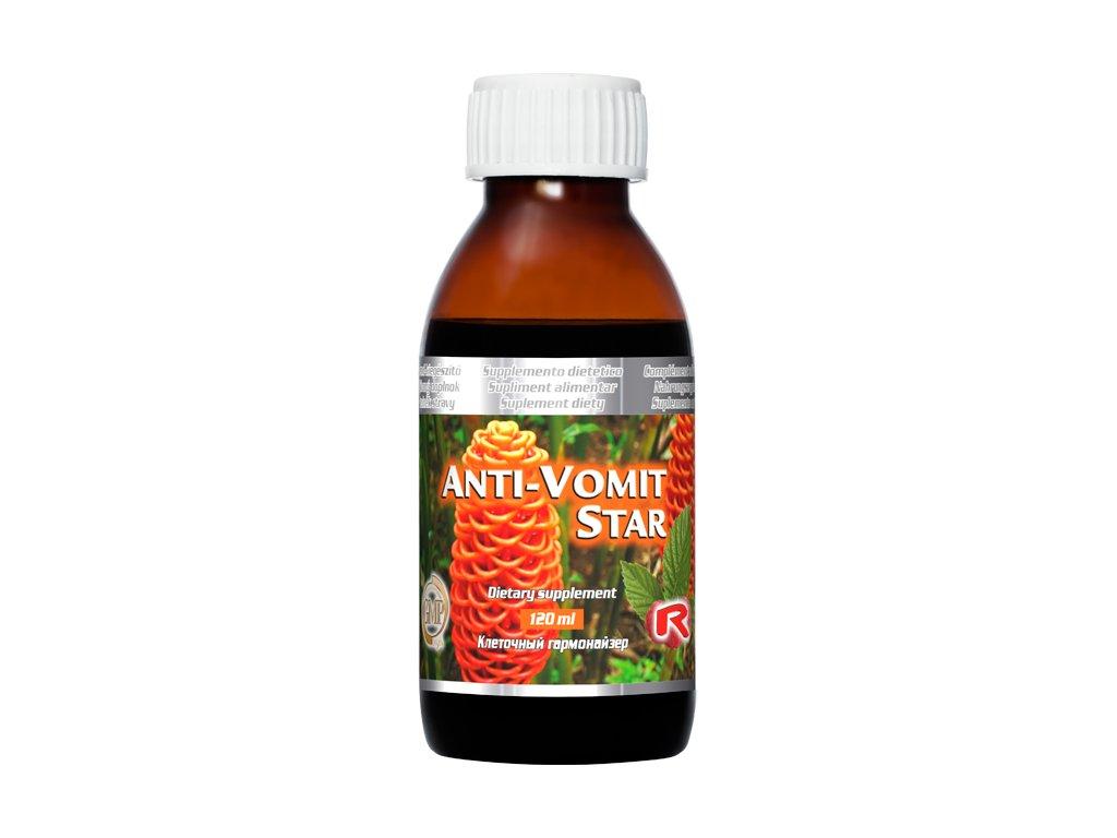 ANTI-VOMIT STAR, 120 ml - snížení pocitu nevolnosti