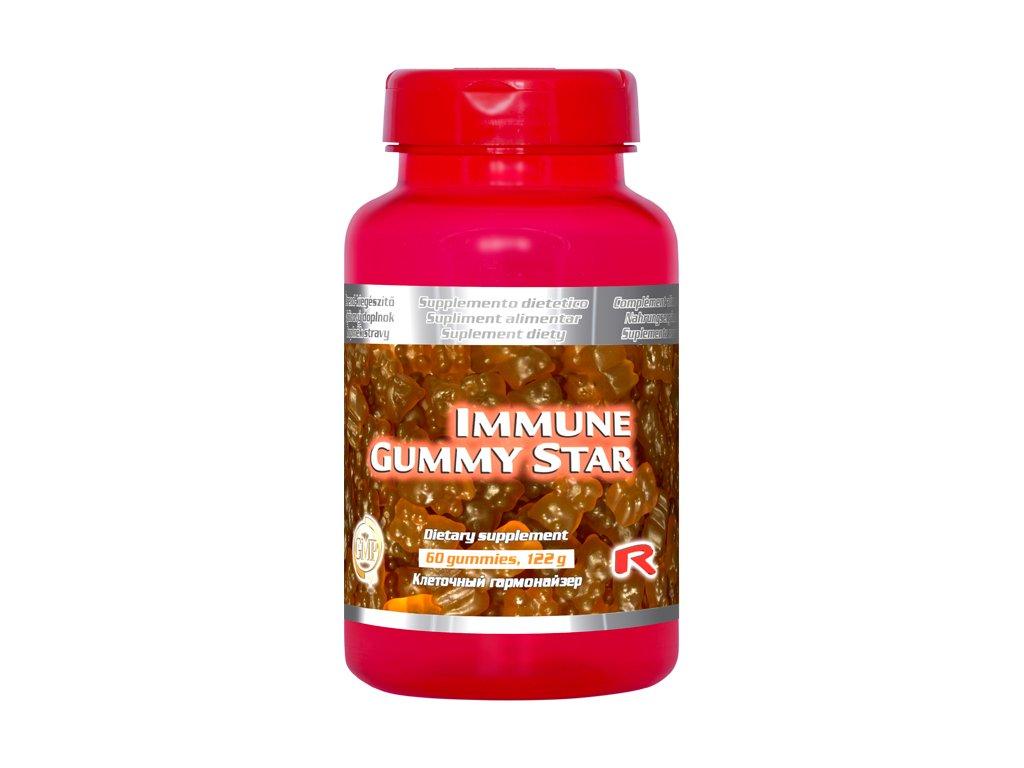 IMMUNE GUMMY STAR, 60 pcs - imunita, vitalita