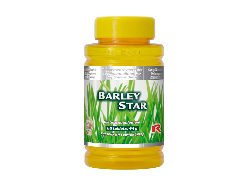 BARLEY STAR, 60 tbl - ječmen obecný