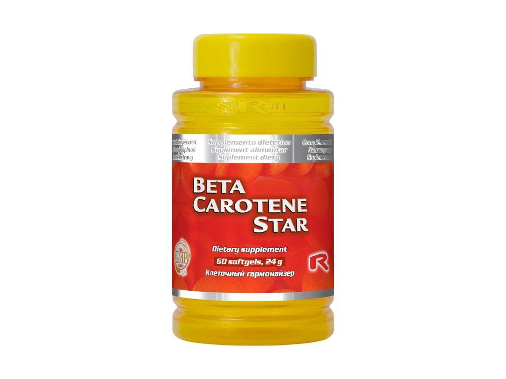 BETA CAROTENE STAR, 60 sfg - 25.000 I.U. vitaminu A