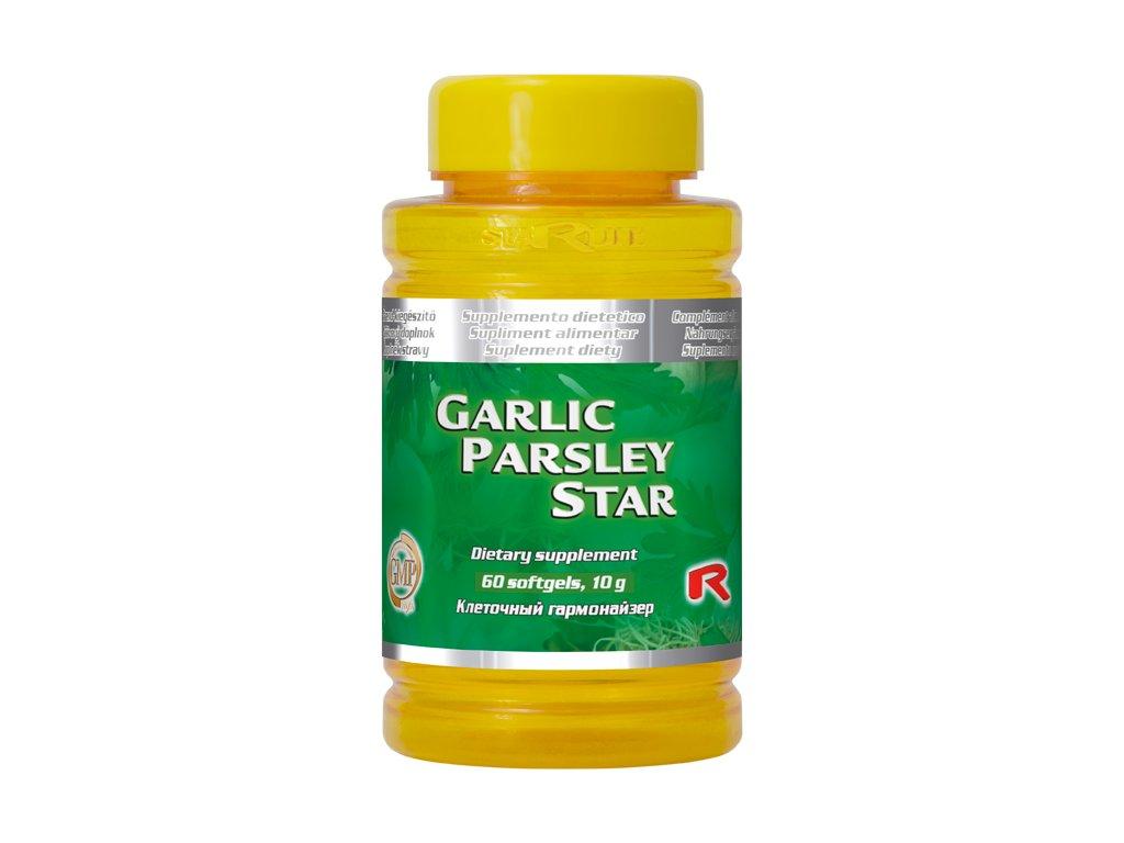 GARLIC PARSLEY STAR, 60 sfg - česnek, petržel – činnost srdce