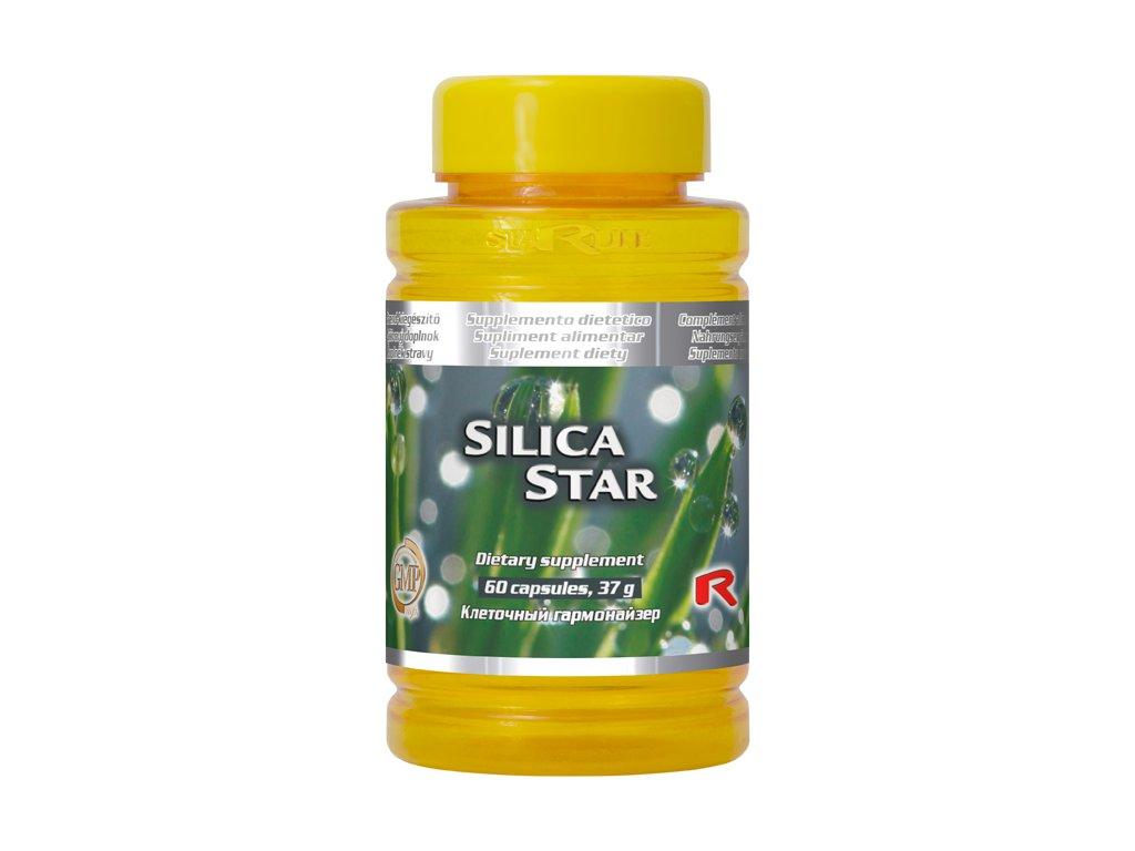 SILICA STAR, 60 cps - přeslička rolní – zdroj křemíku