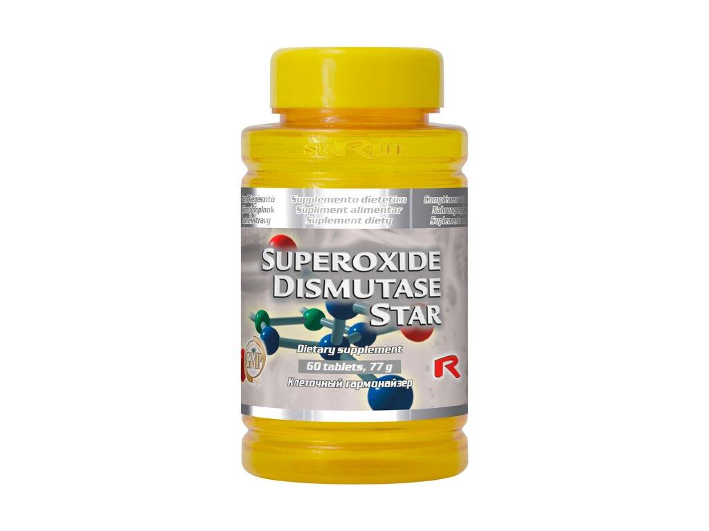 SUPEROXIDE DISMUTASE STAR, 60 tbl - antioxidant