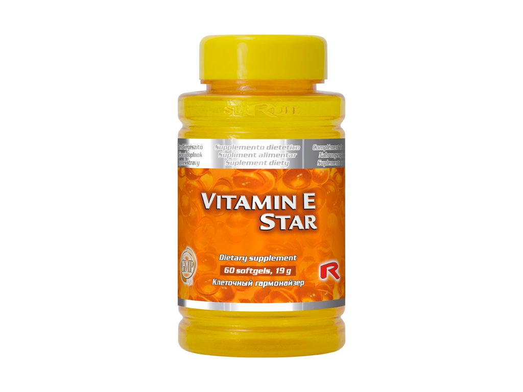 VITAMIN E STAR, 60 sfg - antioxidant