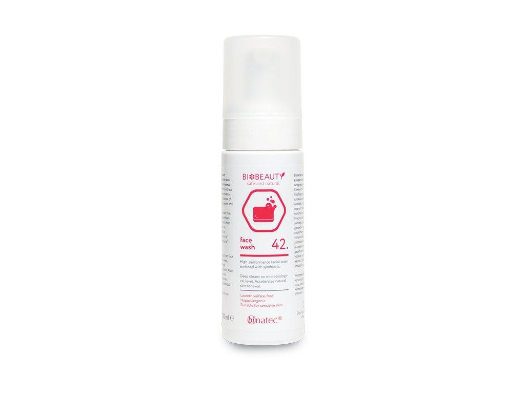 FACE WASH, 150 ml - vysoce účinná čistící pěna obohacená o symbiotika