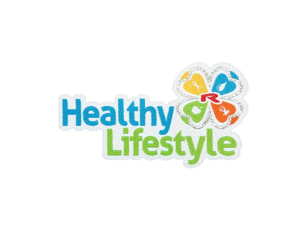 Nažehlovací logo Healty Lifestyle 55mm, 1 pcs -