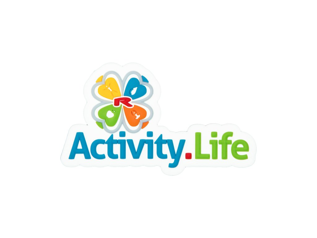 Magnetické logo 3D Activity.Life 80×46 mm, 1 pcs -