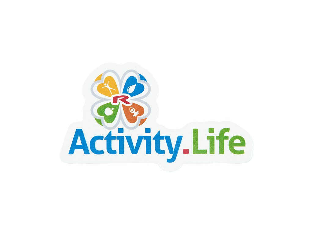 Magnetické logo Activity.Life 80×46 mm, 1 pcs -