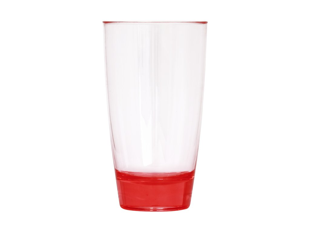 WATER CUP PLASTIC, 450 ml, PINK, 1 pcs -
