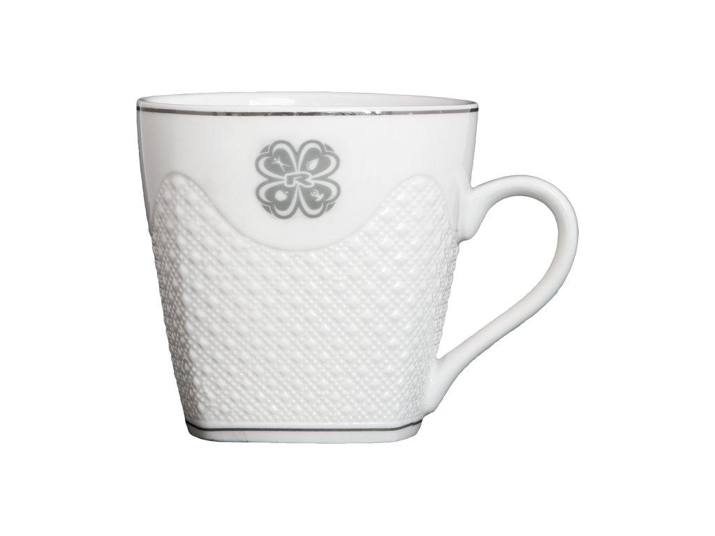CUP, 320 ml, WHITE CERAMIC, 1 pcs -