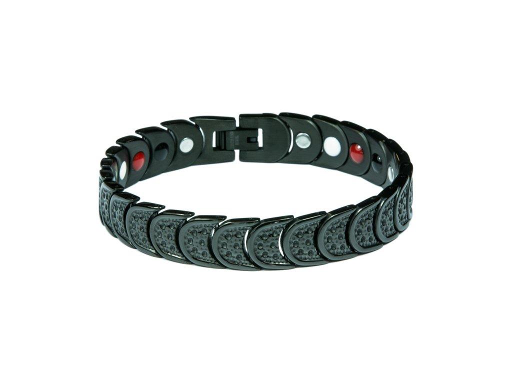 Bracelet AMY black, 1 pcs - Elegantní magnetický náramek