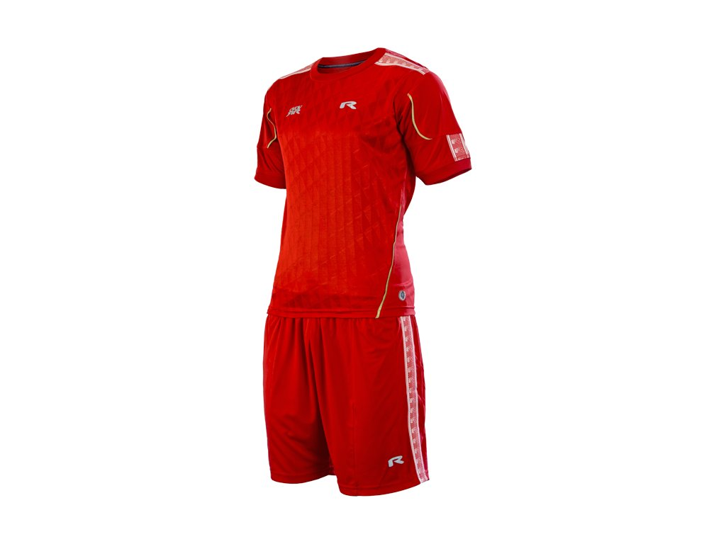 SET CHARLEY, Red/Red, U, 2XL, 1 pcs -
