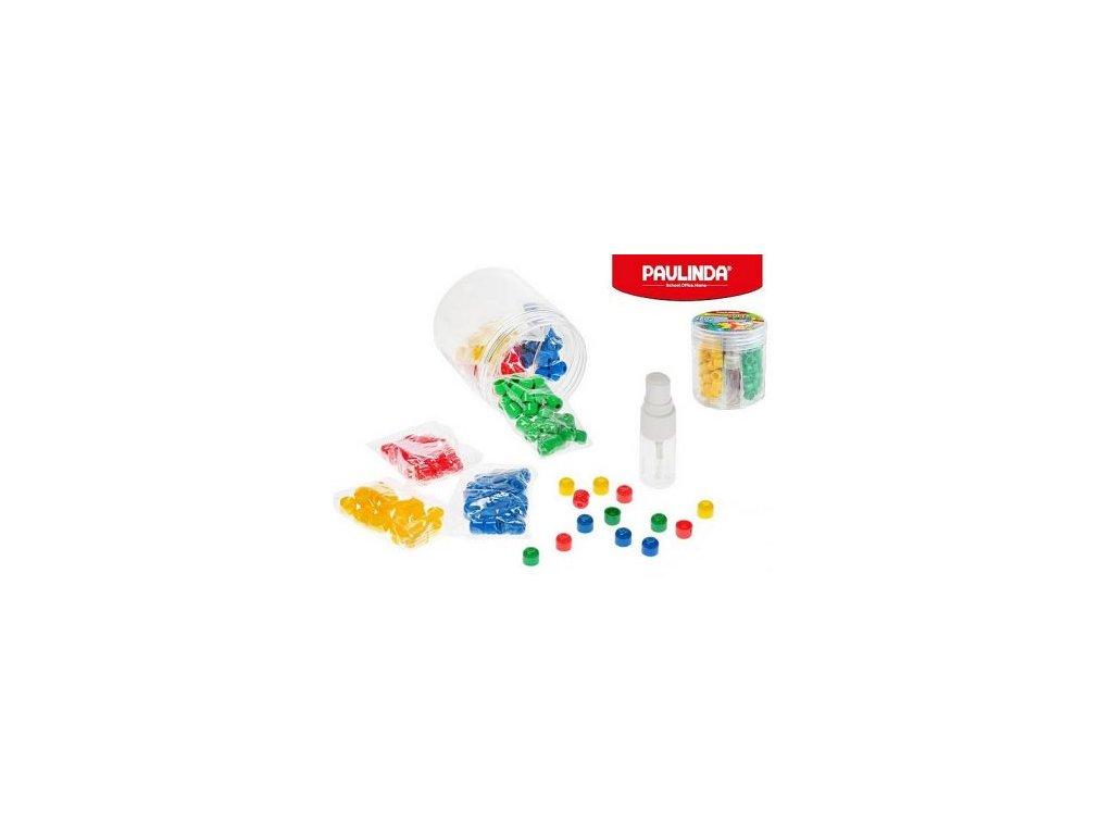 Paulinda Super Beads Jumbo 10x8 4barvy 160ks