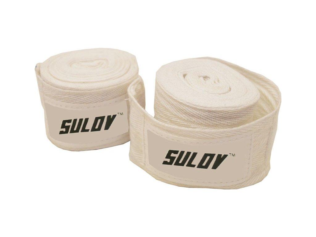 Box bandáž SULOV bavlna 4m, 2ks, bílá