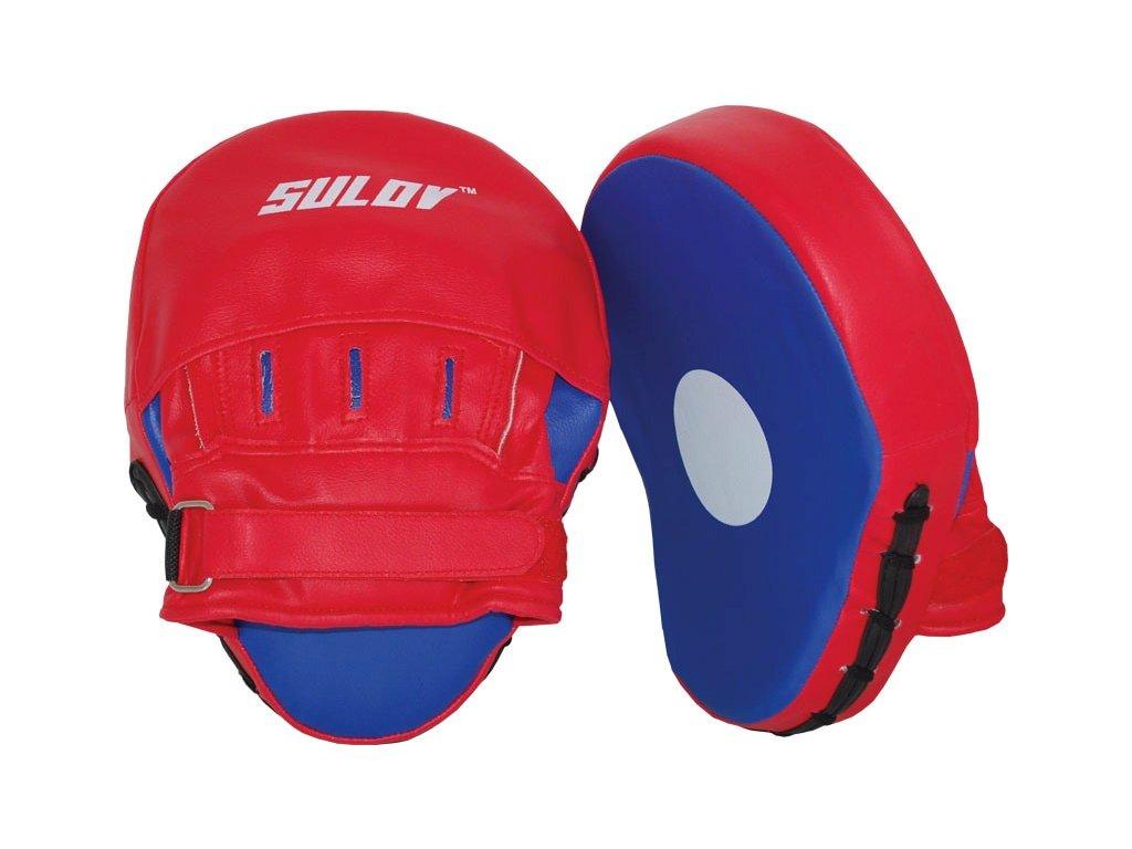 Box lapa prohnutá SULOV PVC, pár, červeno-modrá