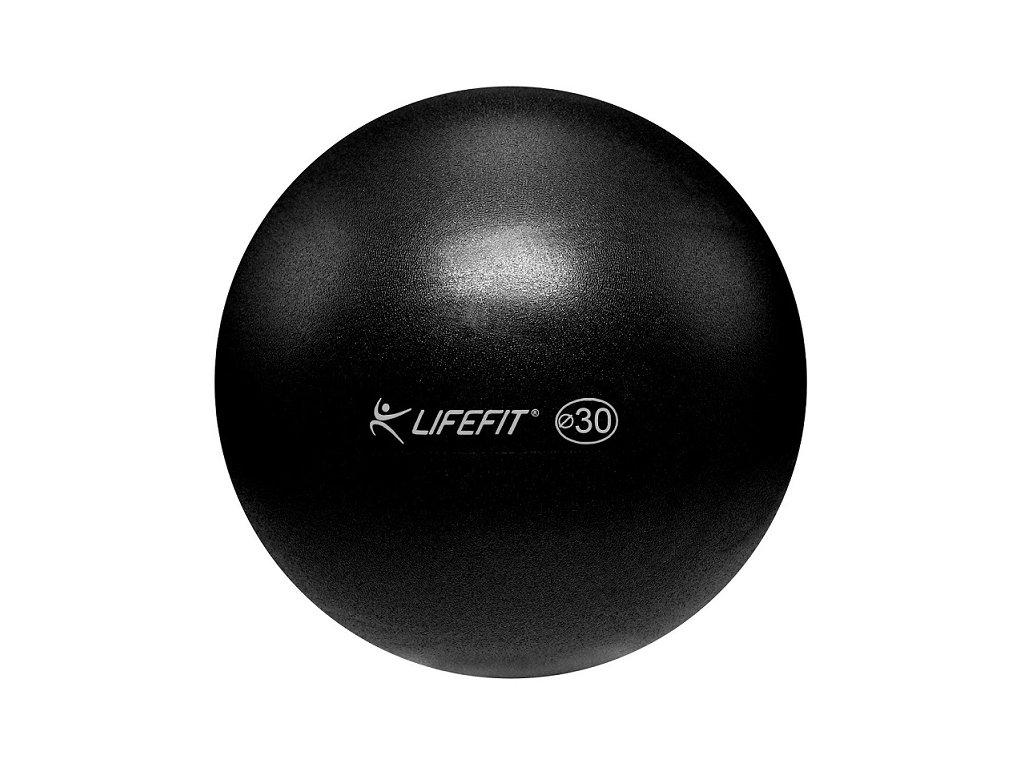 Míč OVERBALL LIFEFIT 30cm, černý
