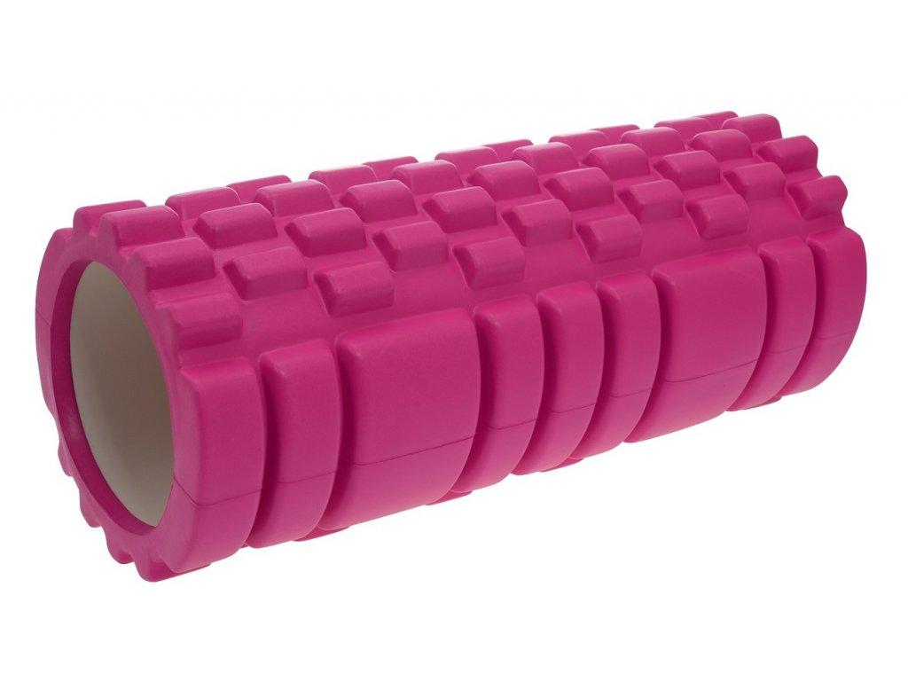 Masážní válec LIFEFIT JOGA ROLLER A01 33x14cm, růžový