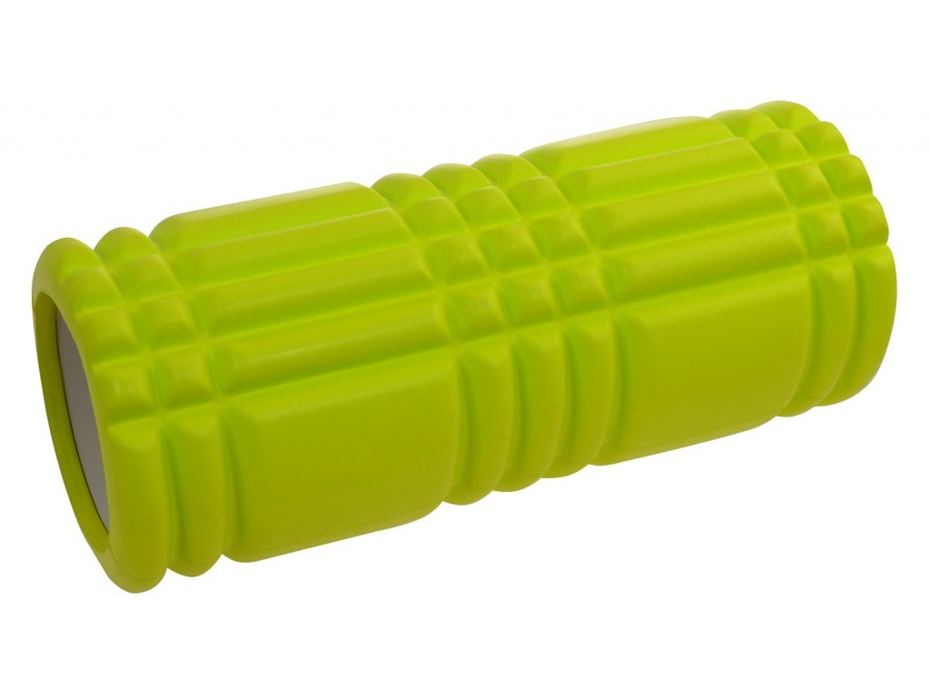 Masážní válec LIFEFIT JOGA ROLLER B01 33x14cm, zelený