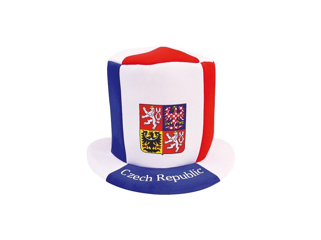 Klobouk vlajkový ČR 4