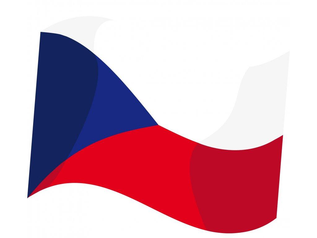Vlajka ČR 90x60
