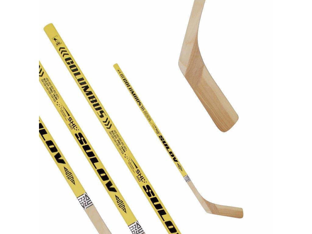 Hokejka SULOV COLUMBUS, 100cm, rovná