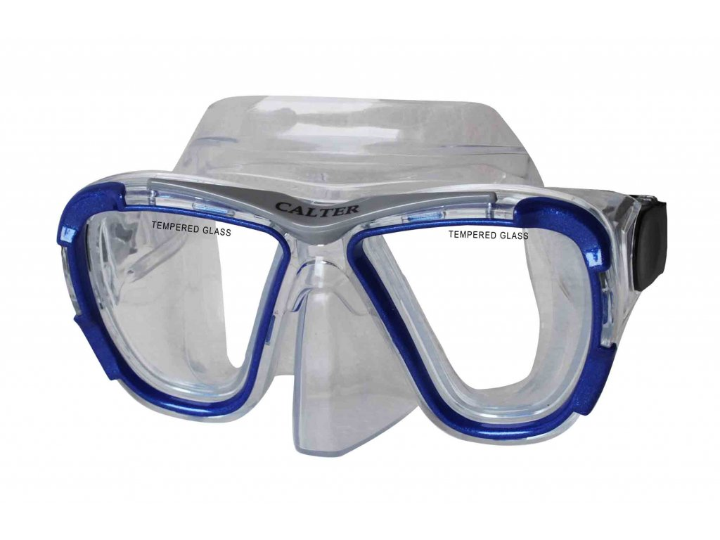 Potápěčská maska CALTER SENIOR 238P, modrá