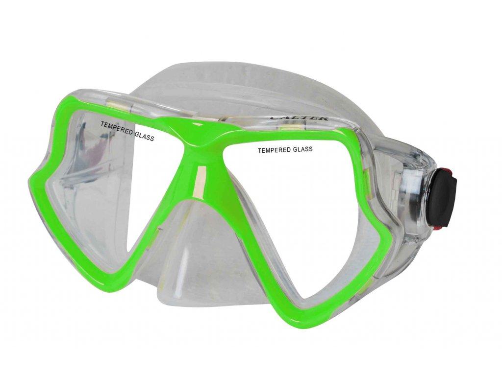 Potápěčská maska CALTER SENIOR 282S, zelená