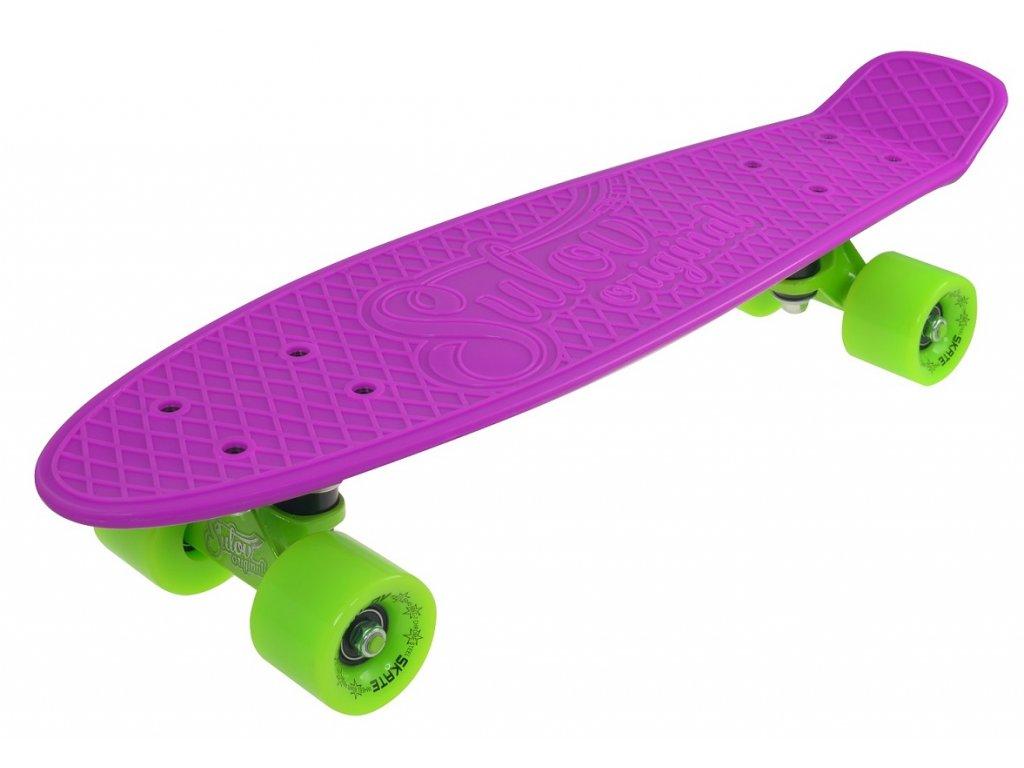 """Penny board 22"""" SULOV VIA DOLCE fialovo-zelený"""