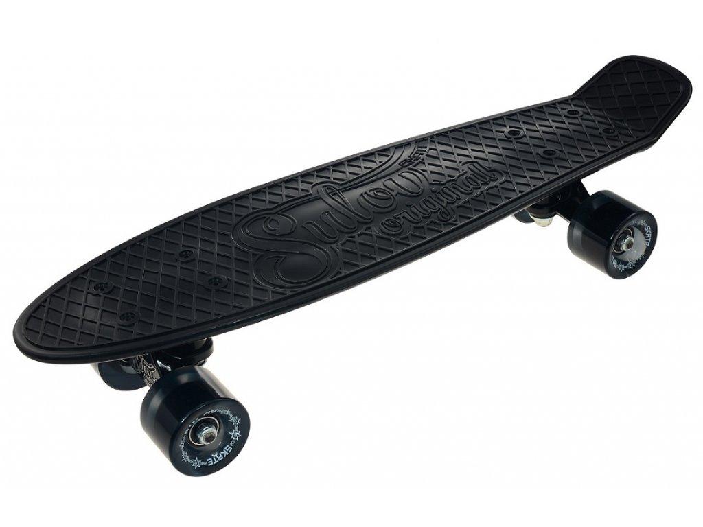 """Penny board 22"""" SULOV RETRO VENICE černo-tr.černý"""