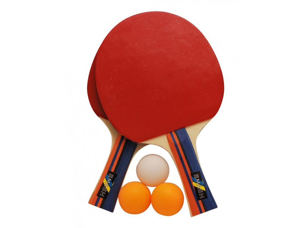 Set na pingpong RULYT 2ST-01, 2 x raketa, 3 x míč