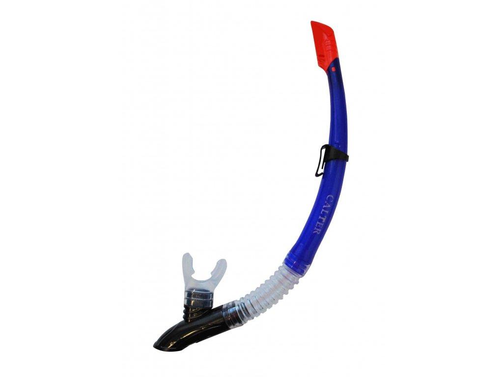 Šnorchl CALTER ADULT 63PVC-SILICON, modrý