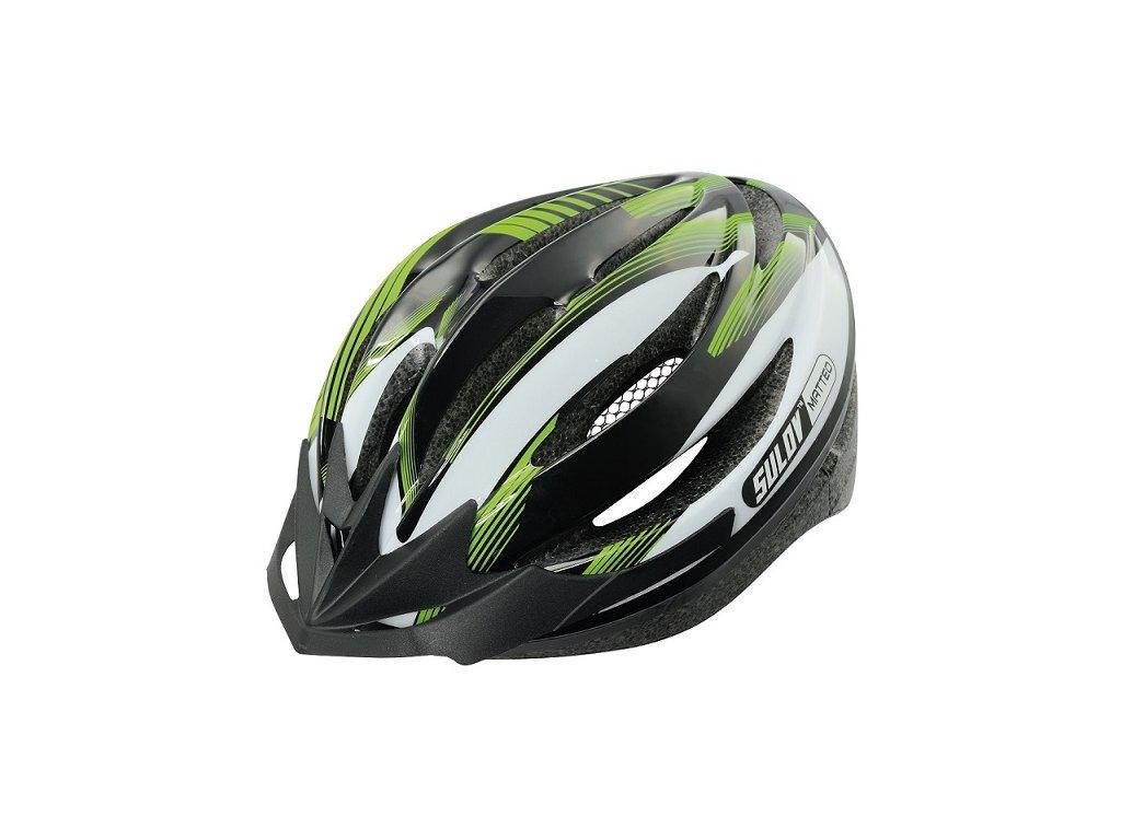 Cyklo přilba SULOV MATTEO, zelená