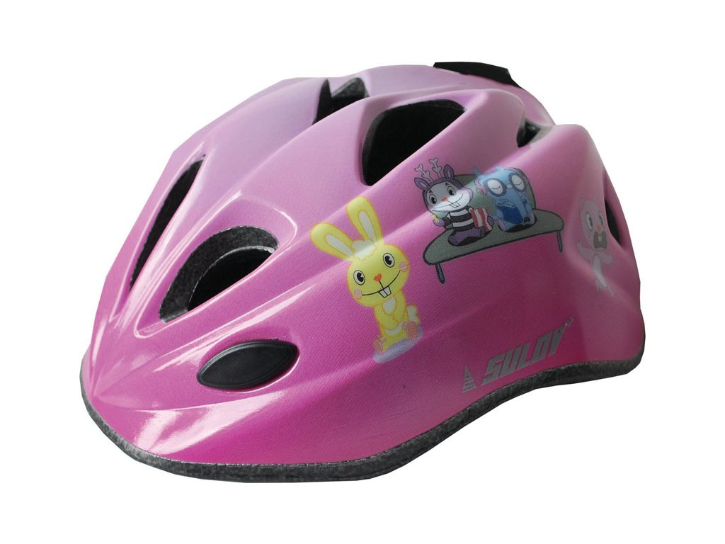 Dětská cyklo helma SULOV GUAR, růžová
