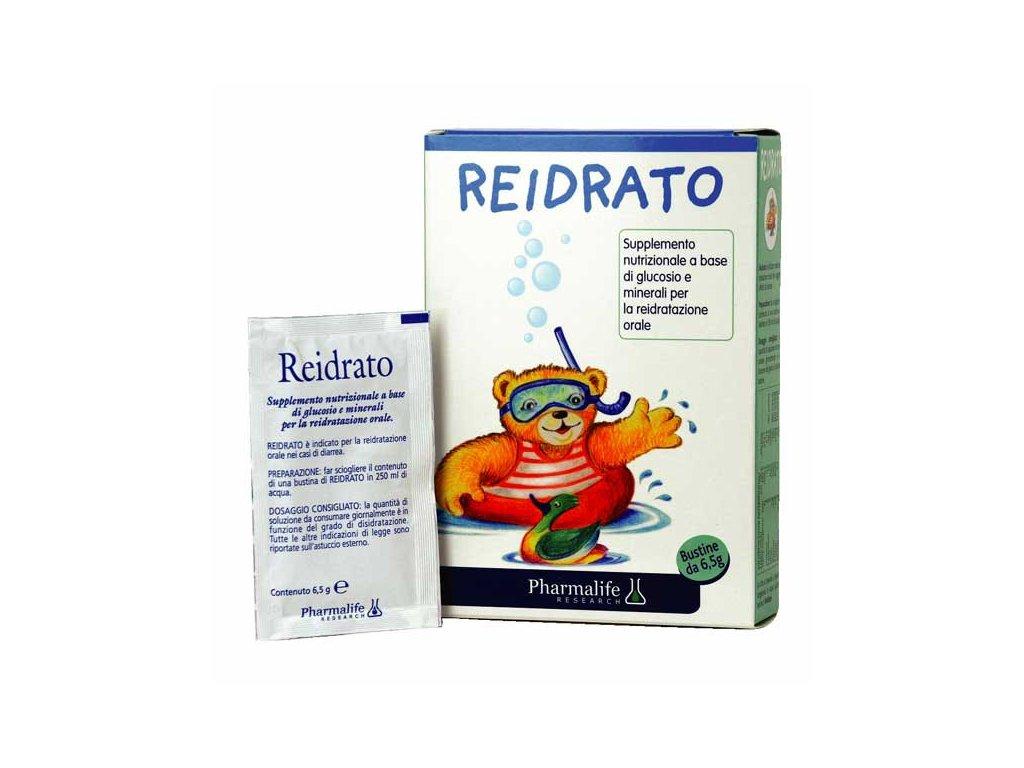 Reidrato prášek při dehydrataci