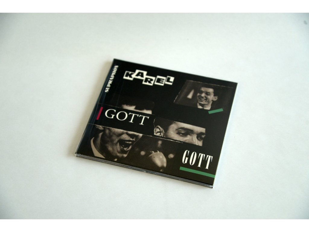 CD Zpívá Karel Gott. Nejslavnější deska Karla Gotta na CD