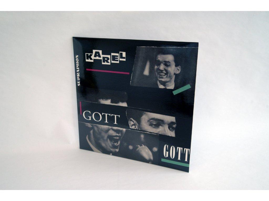 LP Zpívá Karel Gott. Nejslavnější deska Karla Gotta na LP