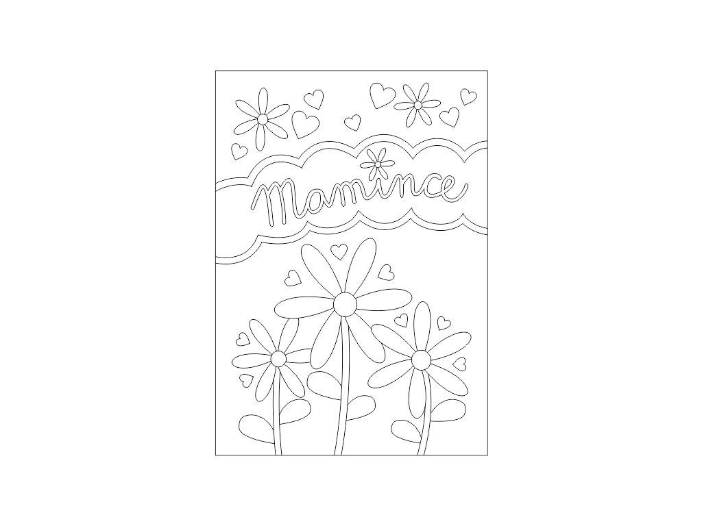 Šablona Mamince 2
