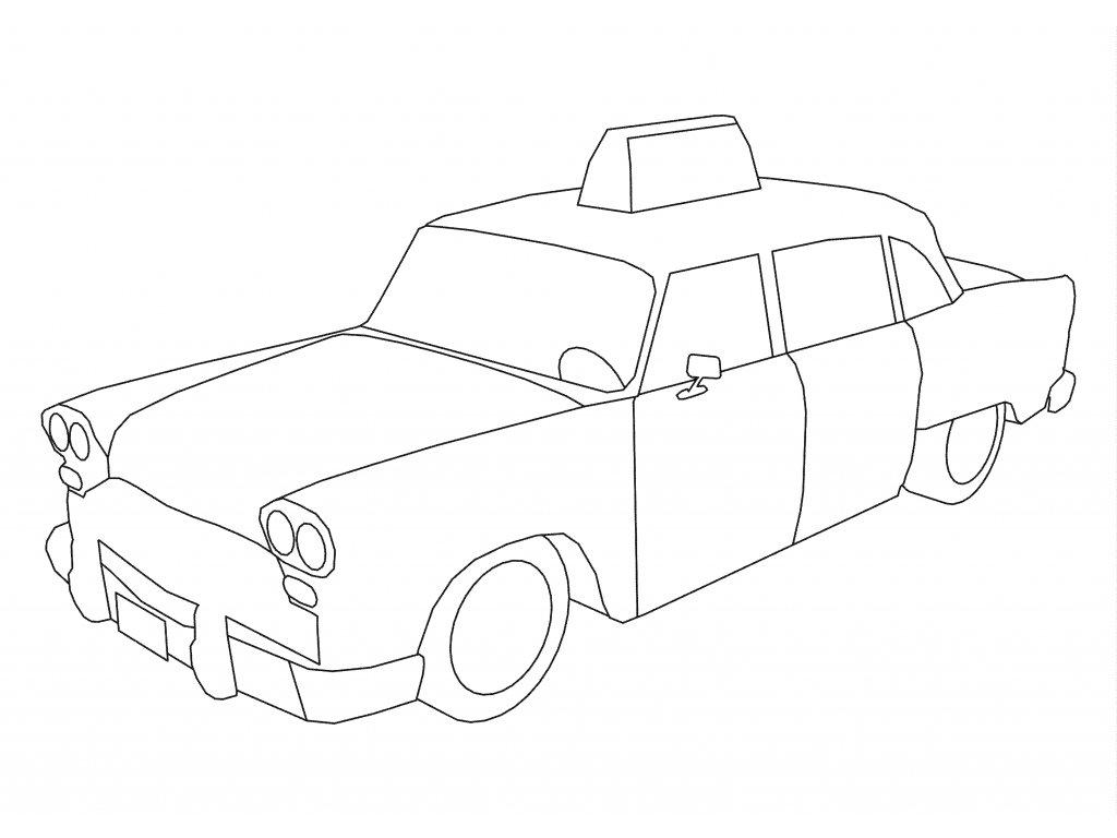 Šablona Taxi