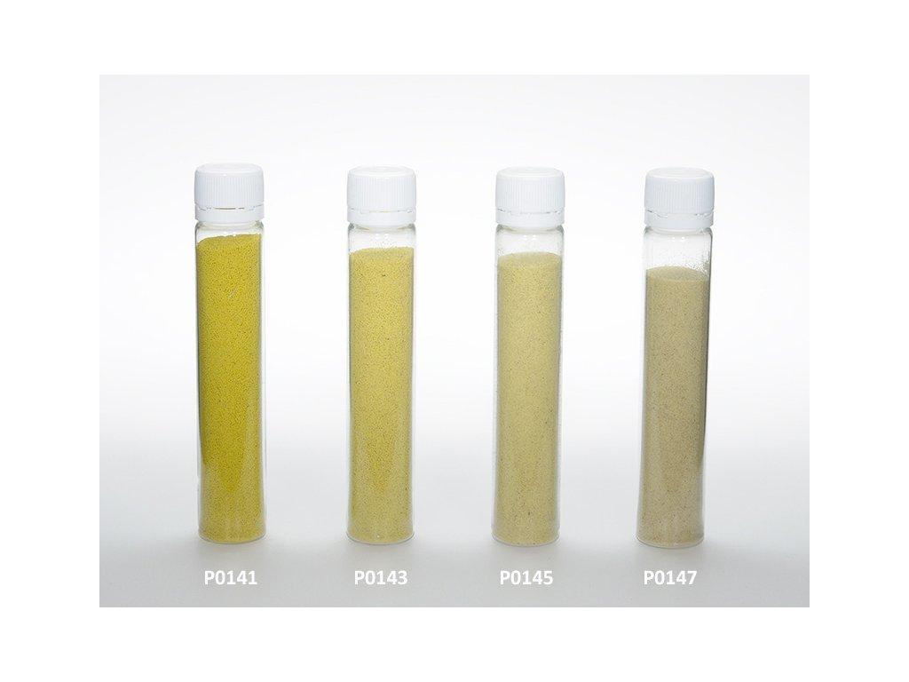 Barevný písek - žlutá barva