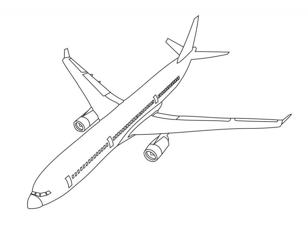 Šablona Airbus