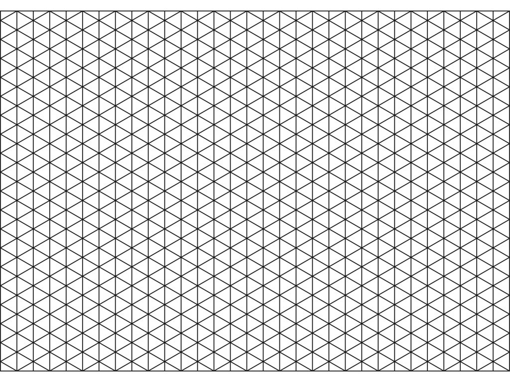 Šablona Rastr - trojúhelník