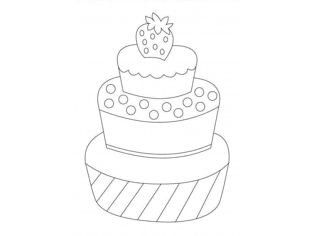 Šablona Patrový dortík