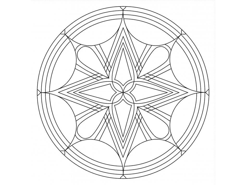 Šablona Mandala 0514